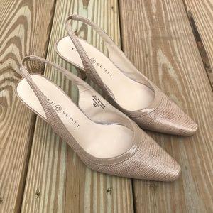 Karen Scott Women Sandal Shoe Benedict Slingback